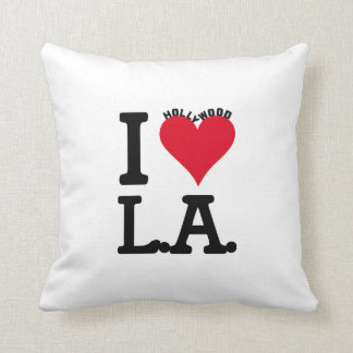 Los Angeles LOVE Hollywood Edition Coussin Décoratif