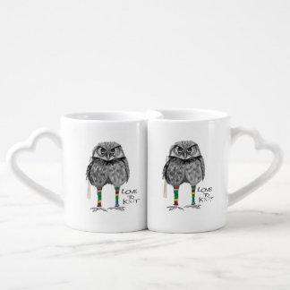 Lot De Mugs Amour à tricoter