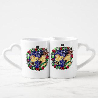 Lot De Mugs amour de deux cerfs communs
