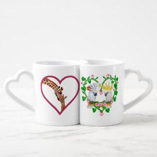 Lot De Mugs Amour grand d'en haut