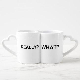 Lot De Mugs Ce qui ? Vraiment ?
