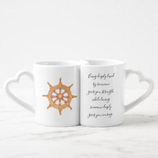 Lot De Mugs Force et courage d'amour