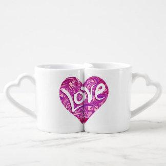 Lot De Mugs Il effiloche San Valentin