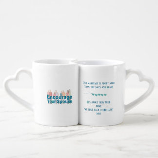 Lot De Mugs Je promets de vous aimer plus de chaque jour