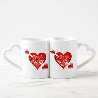 Lot De Mugs Je t'aime