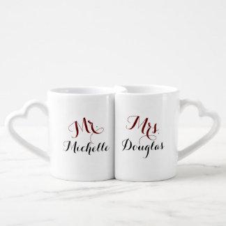 Lot De Mugs M. Son et Mme Him