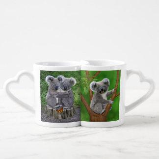 Lot De Mugs Ours de koala de bébé Huggies