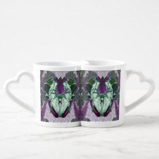 Lot De Mugs Perroquets de magnolia d'Eminece