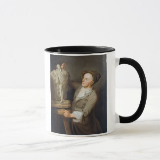 Louis-Francois Roubiliac (1695-1762) modelant le Mug