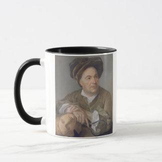 Louis Francois Roubiliac (1702-62) (en pastel sur Mug