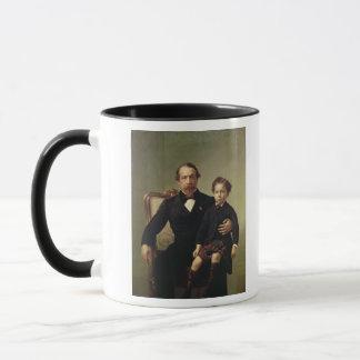 Louis-Napoléon Bonaparte d'empereur et son fils Mug