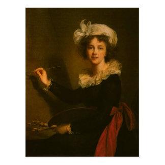 Louise Elisabeth Vigee Le Brun- Self-portrait Carte Postale