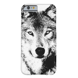 Loup Coque iPhone 6 Barely There