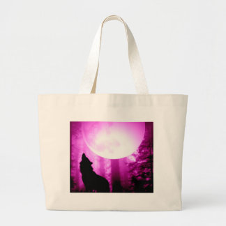 Loup d'hurlement grand sac