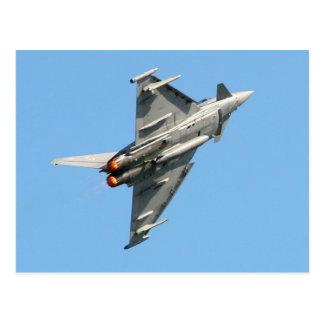 L'ouragan d'Eurofighter Carte Postale