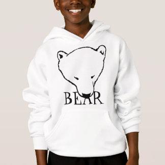 L'ours CUB du sweat - shirt à capuche de l'enfant