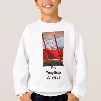 L'ours de nounours de vol badine le T-shirt