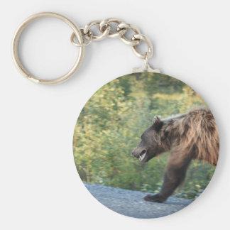 L'ours gris le Yukon, Canada attaque, des Porte-clés