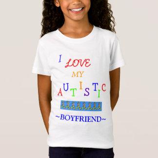 Love~Boyfriend autiste de la fille ! T-shirt de la