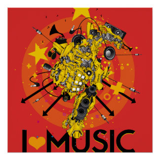 LOVE MUSIC POSTER
