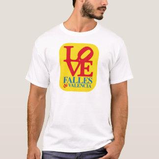LOVE PRONONCEZ YELLOW STAMP T-SHIRT