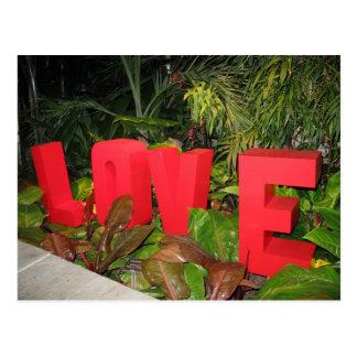 LOVEworks au jardin botanique VA riche de Lewis Carte Postale