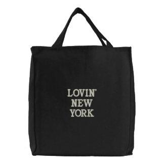LOVIN NEW YORK - cool brodé de sacs de dame !