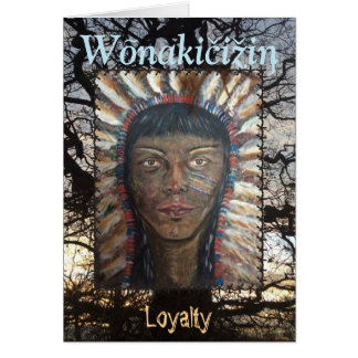 Loyaliteit Wenskaart