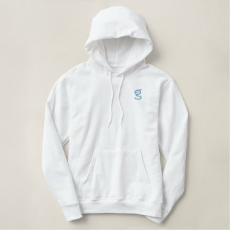 Lt Blue Logo du sweat - shirt à capuche W de dames