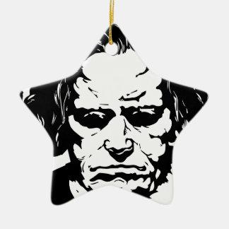 Ludwig van Beethoven - compositeur allemand Ornement Étoile En Céramique
