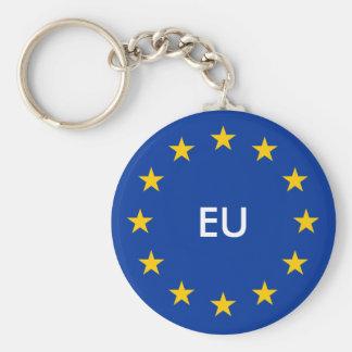 L'UE d'Union européenne marquent des porte - clés Porte-clé Rond