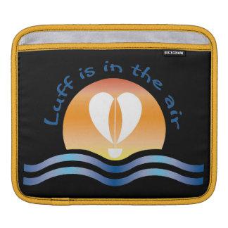 Luffers Sunset_Luff est dans l'air_blue sur le Housse Pour iPad