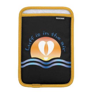 Luffers Sunset_Luff est dans l'air_blue sur le Housse Pour iPad Mini
