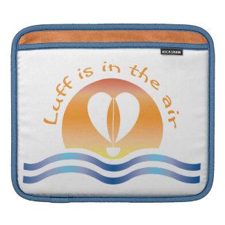Luffers Sunset_Luff est dans le ciel Housse Pour iPad
