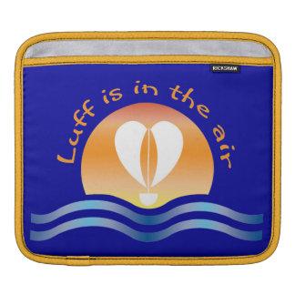Luffers Sunset_Luff est dans le ciel sur le bleu Housse Pour iPad