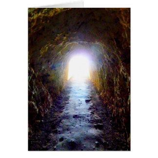 Lumière à l'extrémité de la carte de tunnel