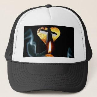 Lumière de casquette du monde