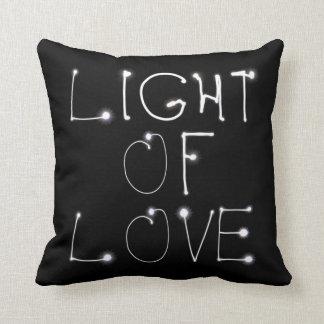 Lumière de coussin d'amour
