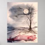 lumière de lune affiches