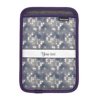 Lumières argentées housse pour iPad mini