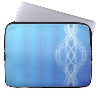 Lumières bleues trousse ordinateur