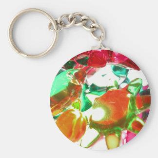 Lumières colorées porte-clefs