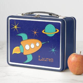 Lunch Box As de gamelle de bateau de Rocket d'espace