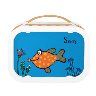 Lunch Box Baisers de poissons de maman et de bébé