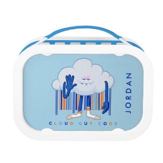 Lunch Box Code de type de nuage de Trolls|