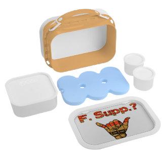 Lunch Box F. Suppl. /Avocat par le jour - Ninja par le