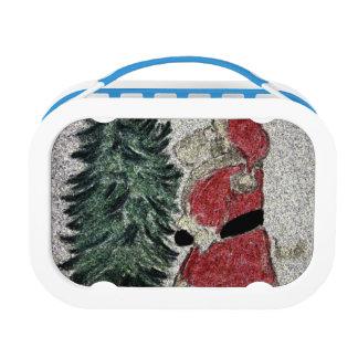 Lunch Box Fresque de Père Noël