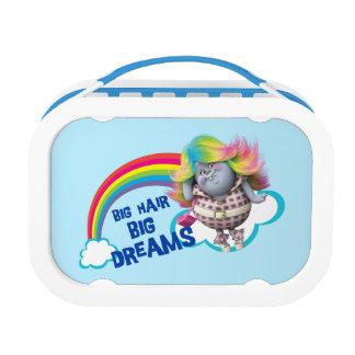 Lunch Box Grands cheveux des trolls |, grands rêves