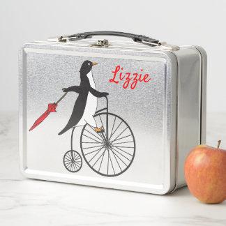 Lunch Box Haute gamelle de pingouin de rouleur