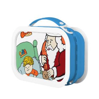 Lunch Box La visite II de Père Noël